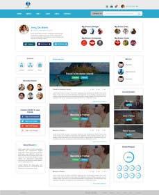 Nro 17 kilpailuun PSD to HTML using Boostrap or Material Design käyttäjältä eliascurtis