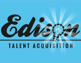 #24 untuk Design a flat logo for Edison Talent Acquisition (Web Design Recruitment). Think inventions crossed with monopoly! oleh manfredslot