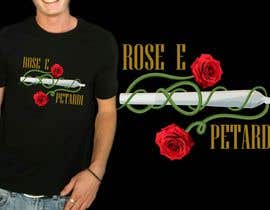 "#8 for disegnare una T-Shirt for a song: ""Rose e petardi"" by iqbalzehan"