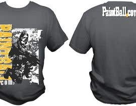 #77 untuk Design a T-Shirt for PaintBall.com oleh bacujkov