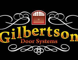 #40 cho Design a Logo for Gilbertson Door Systems bởi gazraet
