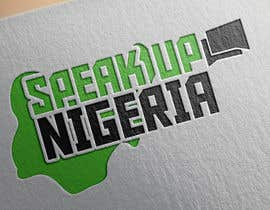 #56 para Design a Logo for Speak up Nigeria, por vanlesterf