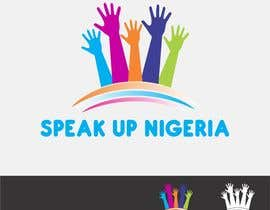 #10 para Design a Logo for Speak up Nigeria, por weblionheart