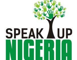 #180 para Design a Logo for Speak up Nigeria, por Irshan143