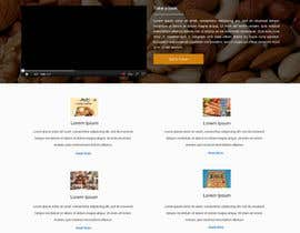 ravinderss2014 tarafından Design a Website Mockup for retail food company için no 35