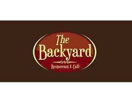 "#21 untuk Diseñar un logotipo para Restaurant Café ""The Backyard"" oleh leovbox"