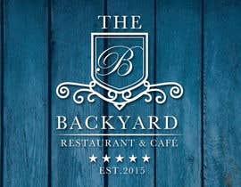 "#22 untuk Diseñar un logotipo para Restaurant Café ""The Backyard"" oleh leovbox"