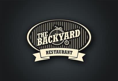 """#27 untuk Diseñar un logotipo para Restaurant Café """"The Backyard"""" oleh eliasbelisario"""