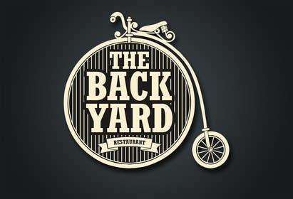 """#53 untuk Diseñar un logotipo para Restaurant Café """"The Backyard"""" oleh eliasbelisario"""