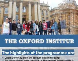 #48 untuk Design an Advertisement for Oxford Institute oleh nishantjain21