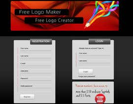 #17 para Sign Up page for Online Logo Maker de jasminkamitrovic