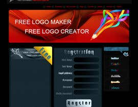 #39 para Sign Up page for Online Logo Maker de ReVeN7