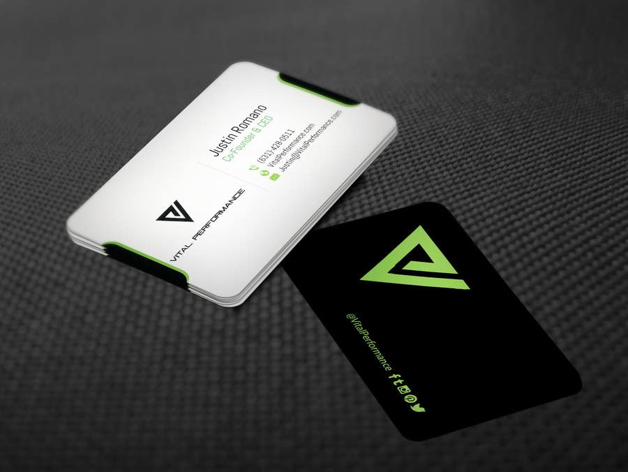 Kilpailutyö #22 kilpailussa Design some Business Cards for Vital Performance