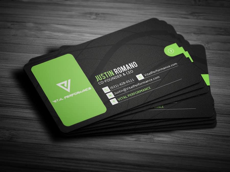 Kilpailutyö #17 kilpailussa Design some Business Cards for Vital Performance