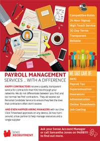 #26 for Design a Flyer for Payroll Management Services af yaris196