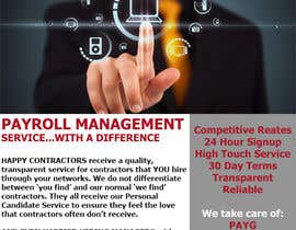 #25 for Design a Flyer for Payroll Management Services af ccgraphicdes