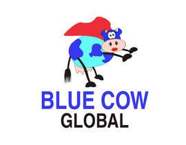 "Standupfall tarafından Design a Logo for our ""Blue Cow Global"" için no 219"