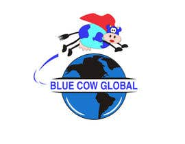 "Standupfall tarafından Design a Logo for our ""Blue Cow Global"" için no 222"