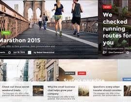 Nro 4 kilpailuun Design a webpage! käyttäjältä desing2015