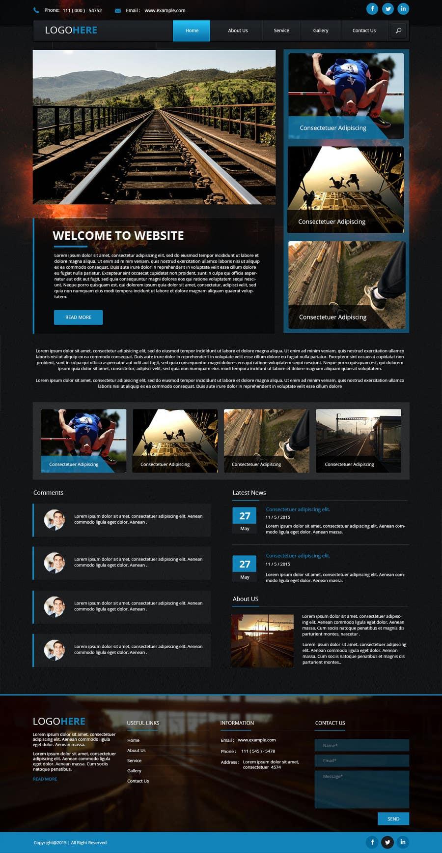 Bài tham dự cuộc thi #12 cho Design a webpage!