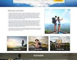 Nro 6 kilpailuun Design a webpage! käyttäjältä codegur