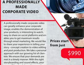 #3 for Design a Flyer for production of Corporate Video af ghani1