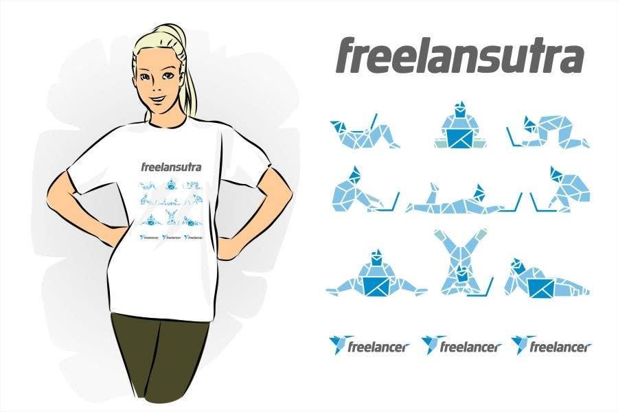 Inscrição nº                                         124                                      do Concurso para                                         T-shirt Re-design for Freelancer.com
