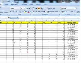 HSDU tarafından Do some Excel Work for Company to manage inventory -- 2 için no 8