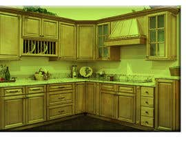 #20 for Adding lighting effects to kitchen cabinets af krishga54