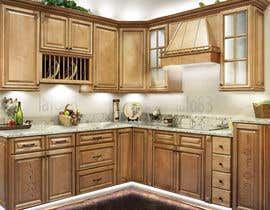 #23 for Adding lighting effects to kitchen cabinets af lafo83