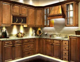 #24 para Adding lighting effects to kitchen cabinets por slcreation