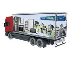 #8 for 3D Design - Truck Branding af AnastasiyaH