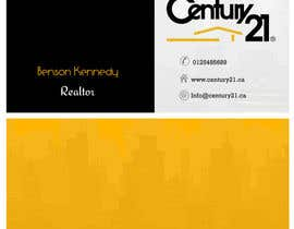 manjegraphics tarafından Design a dynamic and modern Business Cards for a real estate salesperson için no 52