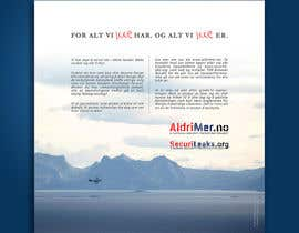 #8 para Design an Advertisement for National security reporting project por F5DesignStudio
