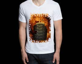 #3 para Hollywood Landscape Burn Scene/Capital Records Building - Haster Tshirt por deffectrix