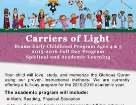 Nro 40 kilpailuun Design a Flyer for Preschool Program käyttäjältä damirruff86