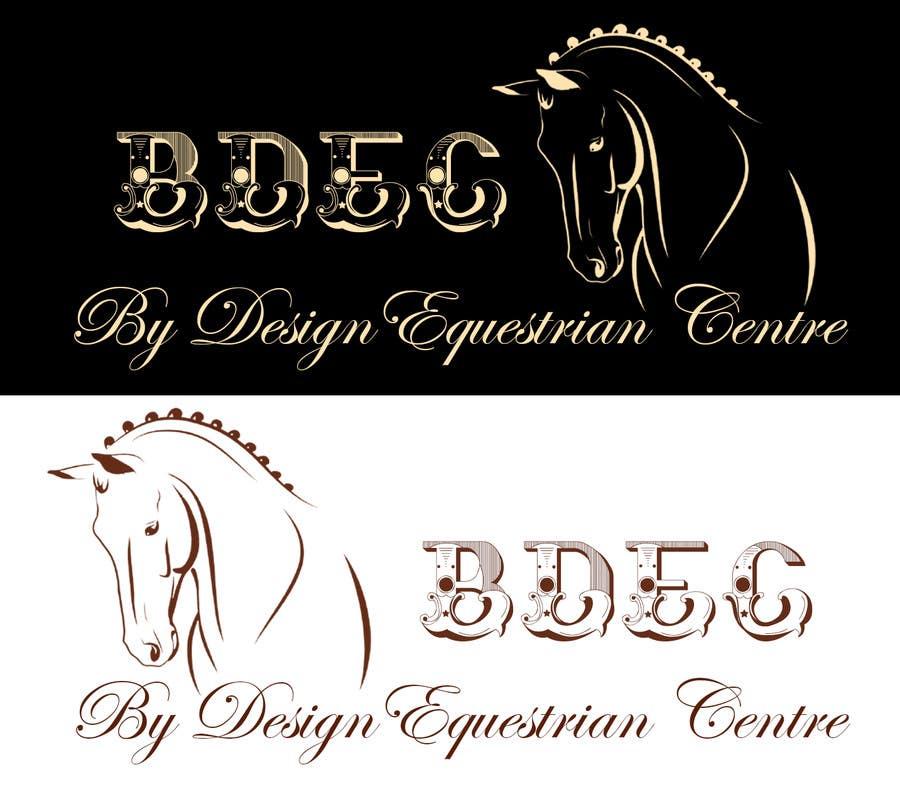 Kilpailutyö #43 kilpailussa Design a Logo for our Equestrian Centre