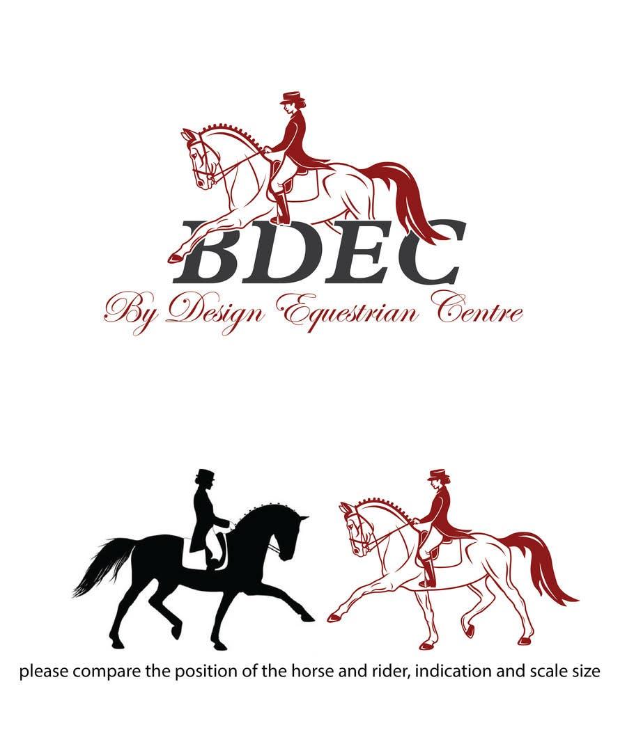 Kilpailutyö #62 kilpailussa Design a Logo for our Equestrian Centre
