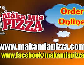 #16 untuk Design a Banner for Online Ordering - Pizza oleh shafique8573