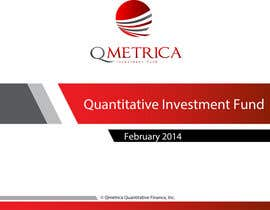 #207 untuk Develop a Corporate Identity for Quant Investment Fund. oleh ciprilisticus