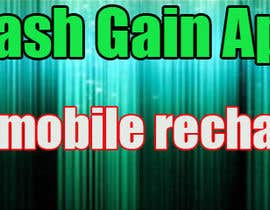Mahim2015 tarafından Cash Gain app banner için no 5