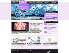 #46 for Design a Website Mockup for OncoSil Medical Ltd af santanubera9