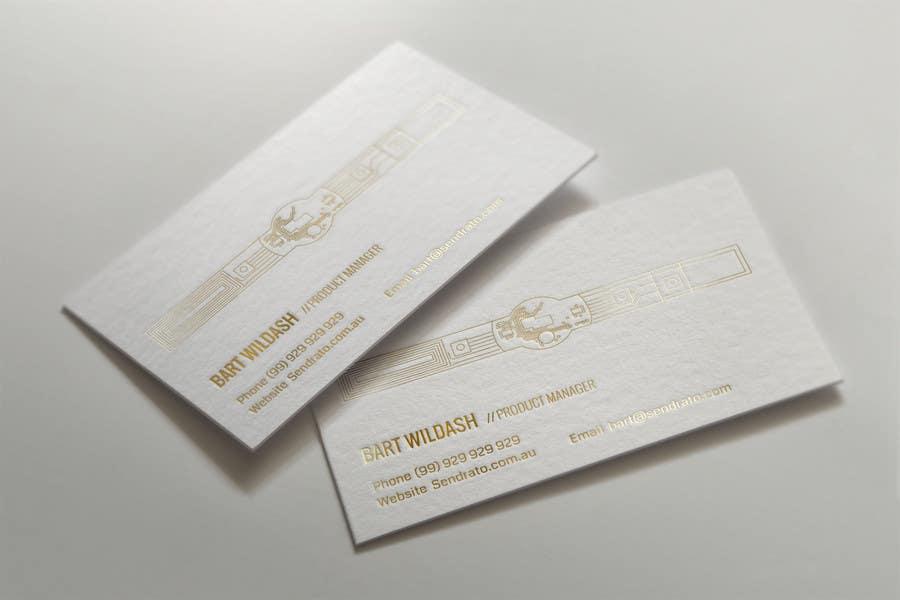 Konkurrenceindlæg #88 for Design some Business Cards for Sendrato Australia