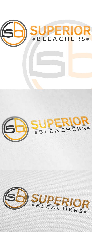 Penyertaan Peraduan #50 untuk Design a Logo for Superior Bleachers