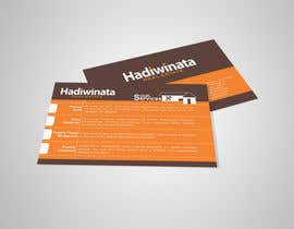 #17 untuk Design Back of Business Cards with design concept provided oleh kalashaili