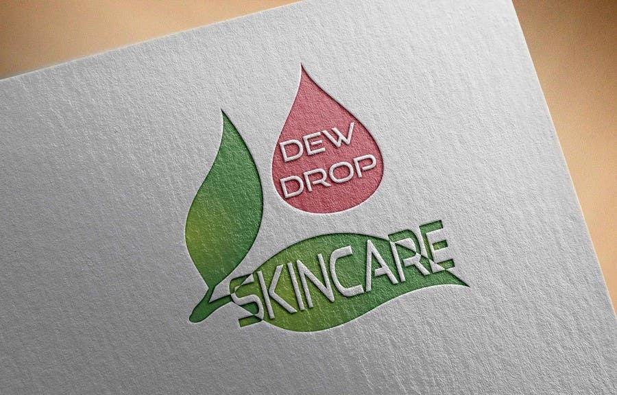 Kilpailutyö #139 kilpailussa Design a Logo for DewDrop SkinCare