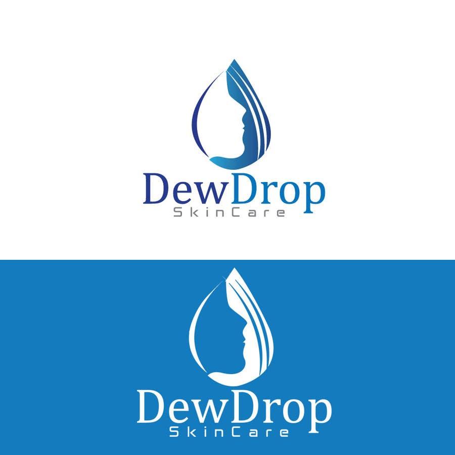 Kilpailutyö #210 kilpailussa Design a Logo for DewDrop SkinCare