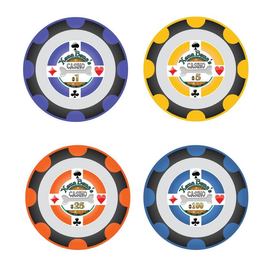 Kilpailutyö #15 kilpailussa Design Poker Chips for my home Casino