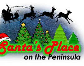 #28 para Design a Logo for  Santa's Place on the Peninsula por Drashan