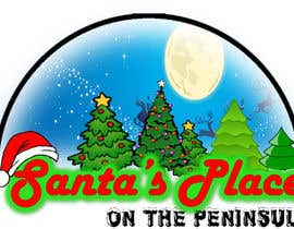 #29 para Design a Logo for  Santa's Place on the Peninsula por Drashan